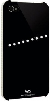 Для iphone чехол для iphone 4 4s white diamonds sash black