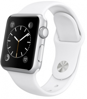 Apple Watch 1 Silver 38mm Sport Band White